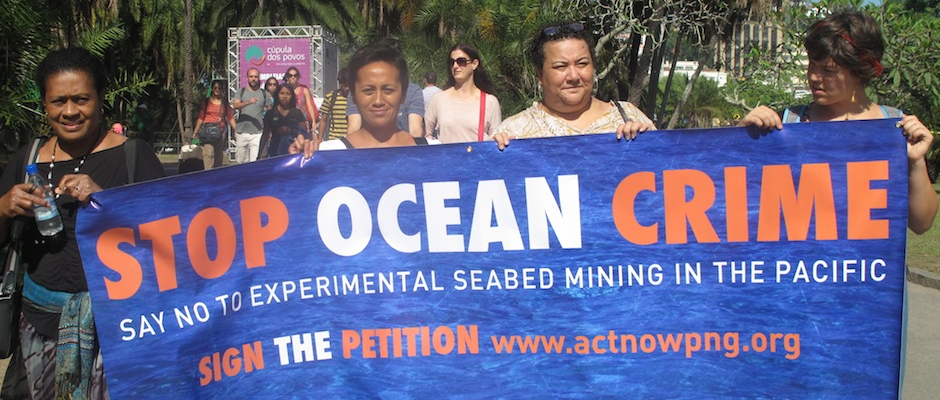 No Seabed Mining